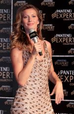 GISELE BUNDCHEN at New Pantene Shampoo Launch in Sao Paulo