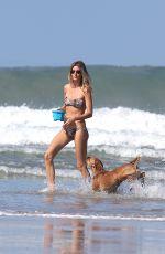 GISELE BUNDCHEN in Bikini at a Beach in Costa Rica