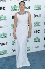 GONG LI at 2014 Film Independent Spirit Awards in Santa Monica