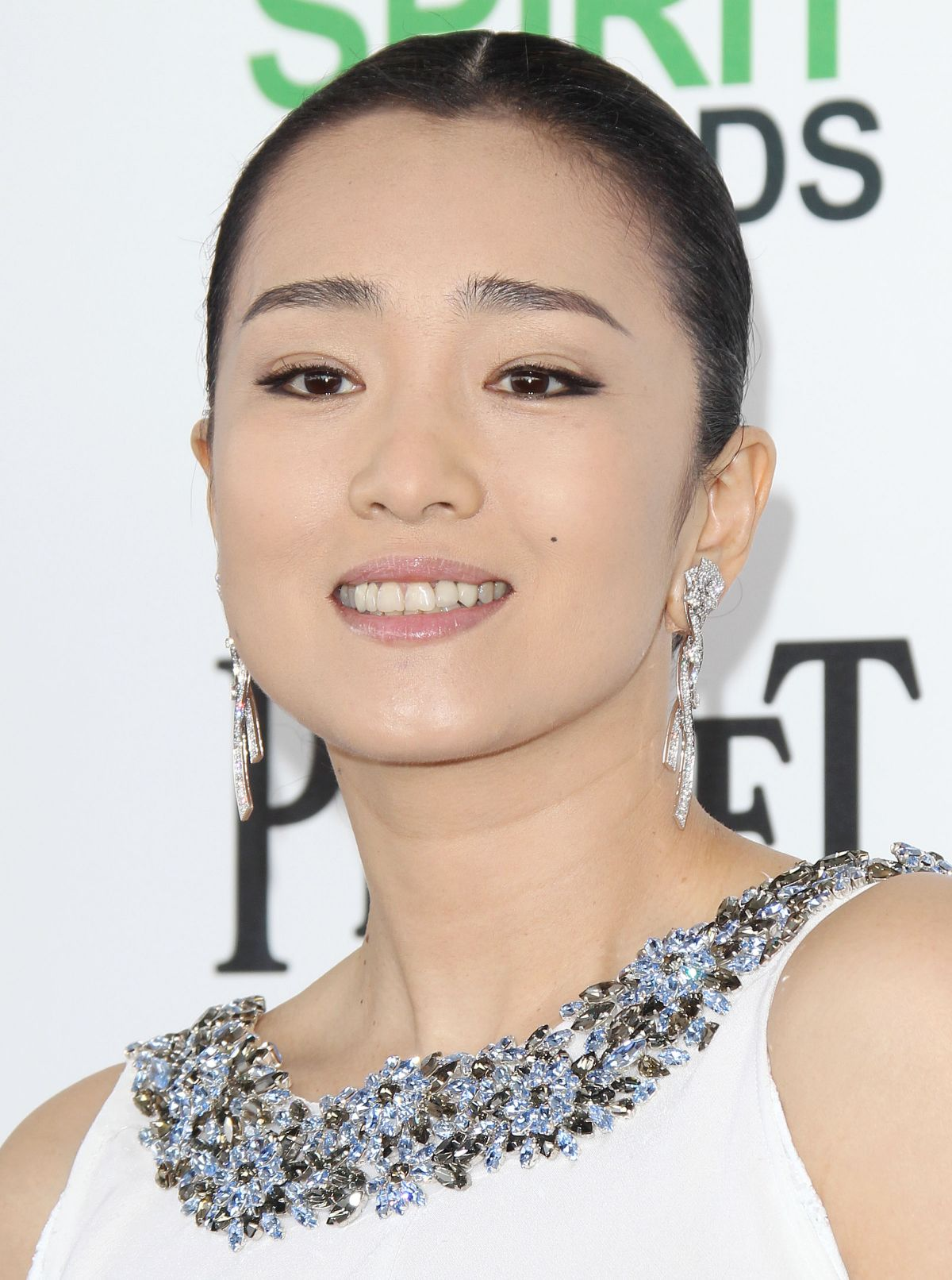 Gong Li At 2014 Film Independent Spirit Awards In Santa