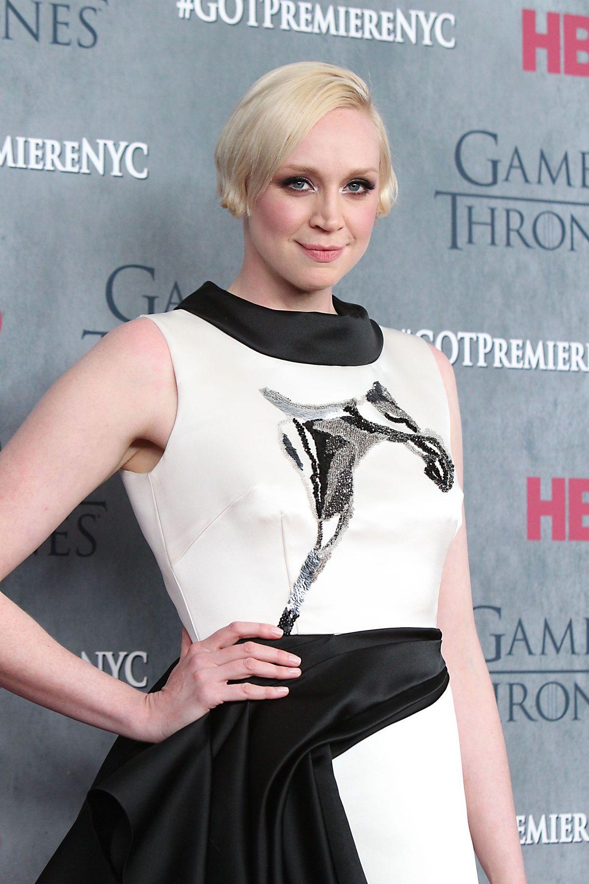 GWENDOLINE CHRISTIE at Game of Thrones Fourth Season Premiere in New York