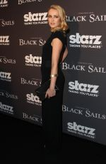 HANNAH NEW at Starz Black Sails Screening in Los Angeles
