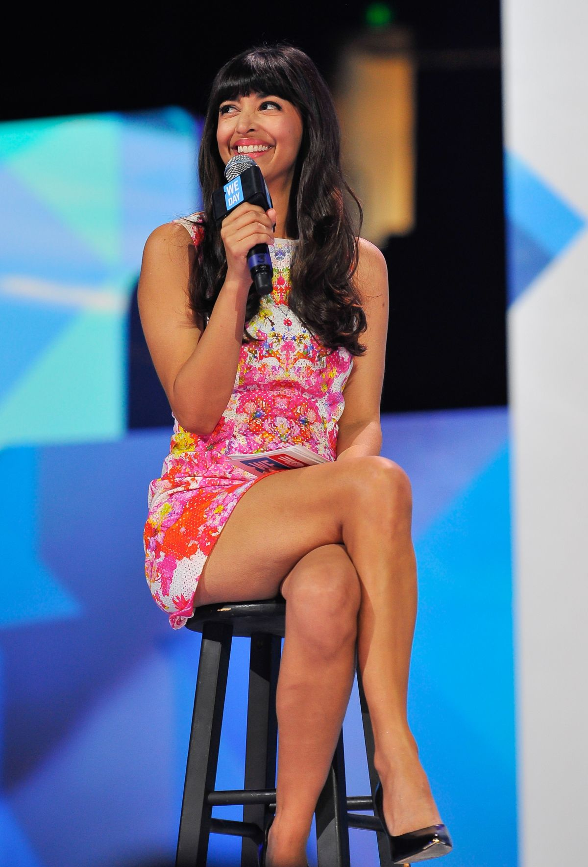 HANNAH SIMONE at We Day California in Oakland
