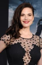 HAYLEY ATWELL at Captain America: The Winter Soldier Premiere in Hollywood