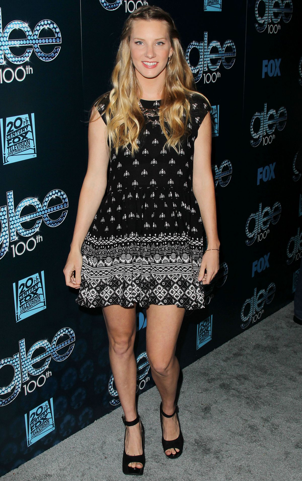 HEATHER MORRIS at Glee 100th Episode Celebration in Los Angeles