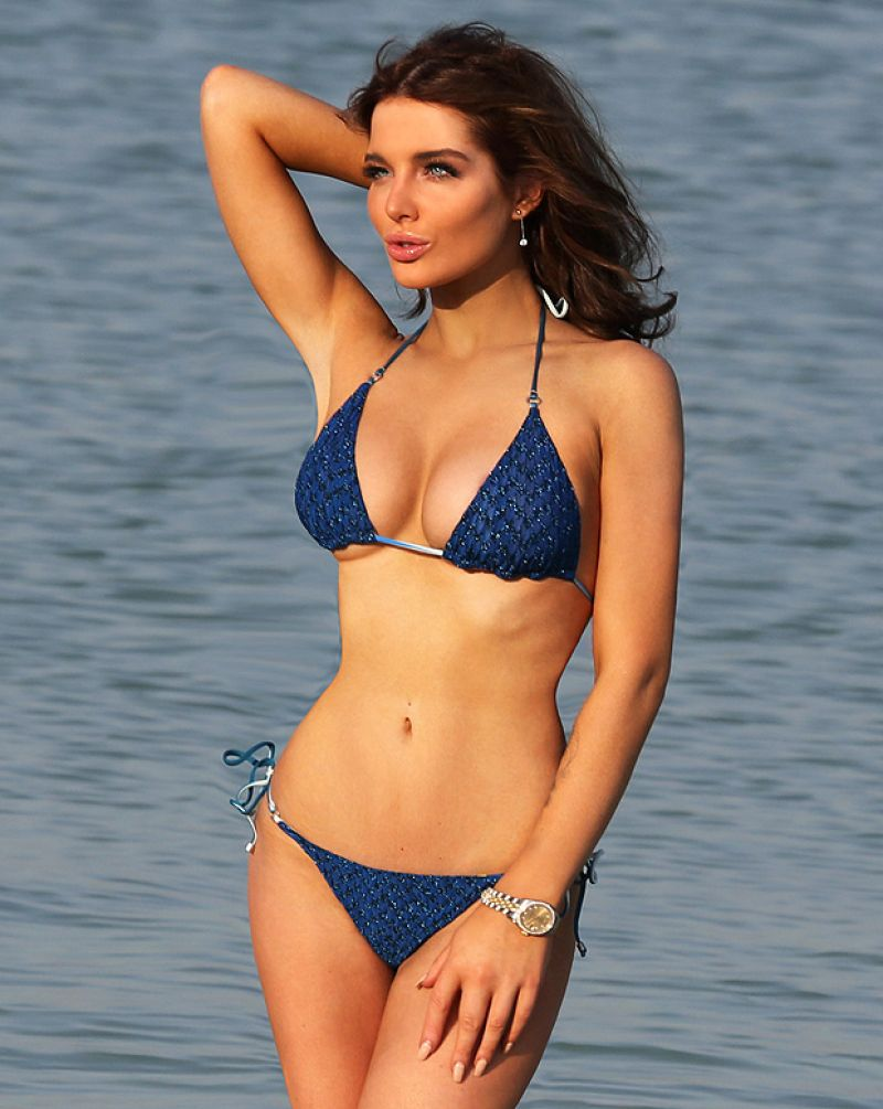 HELEN FLANAGAN in Bikini at a Photoshoot in Dubai