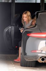 HILARY DUFF Heading to a Gym in Los Angeles