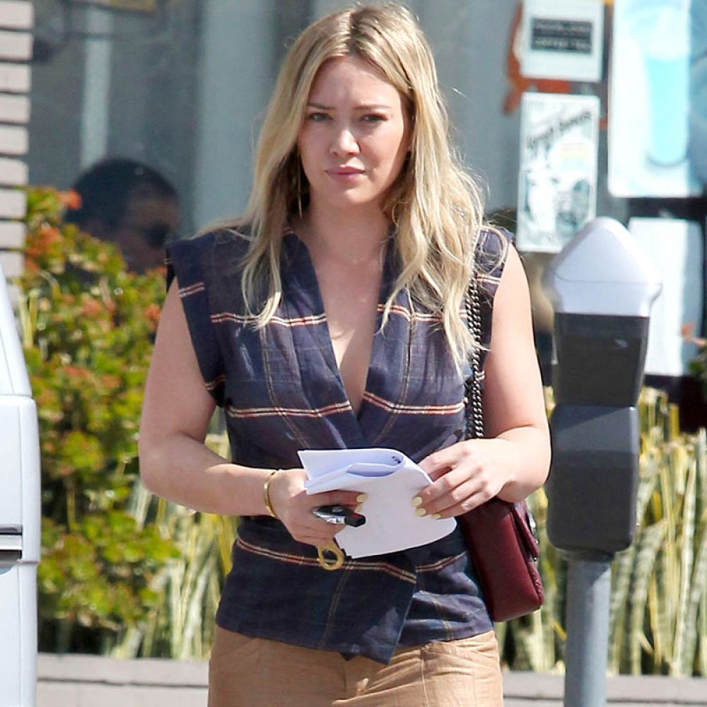 HILARY DUFF Out and About in Los Angeles 0603