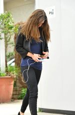 HILARY SWANK Out and About in Brentwood