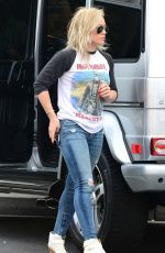 HLARY DUFF in Tight Jeans out in Beverly Hills