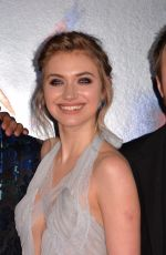 IMOGEN POOTS at Need for Speed Premiere in Hollywood