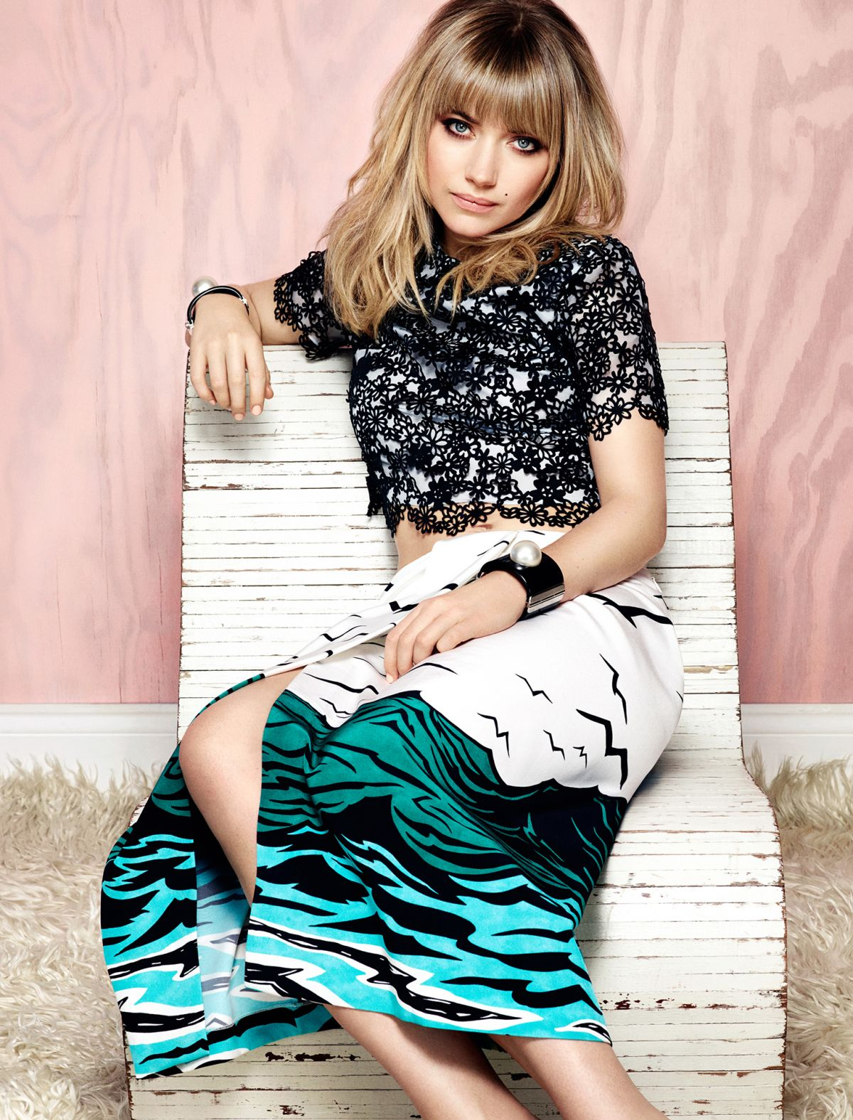 IMOGEN POOTS - Jason Kim Photoshoot for Flare Magazine