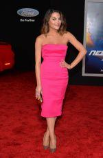INBAR LAVI at Need for Speed Premiere in Hollywood