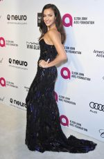 IRINA SHAYK at Elton John Aids Foundation Oscar Party in Los Angeles