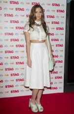 JACQUELINE JOSSA at Stag Screening at Vue Leicester Square in London
