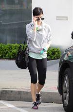 JAIMIE ALEXANDER in Leggings Leaves a Gym in West Hollywood