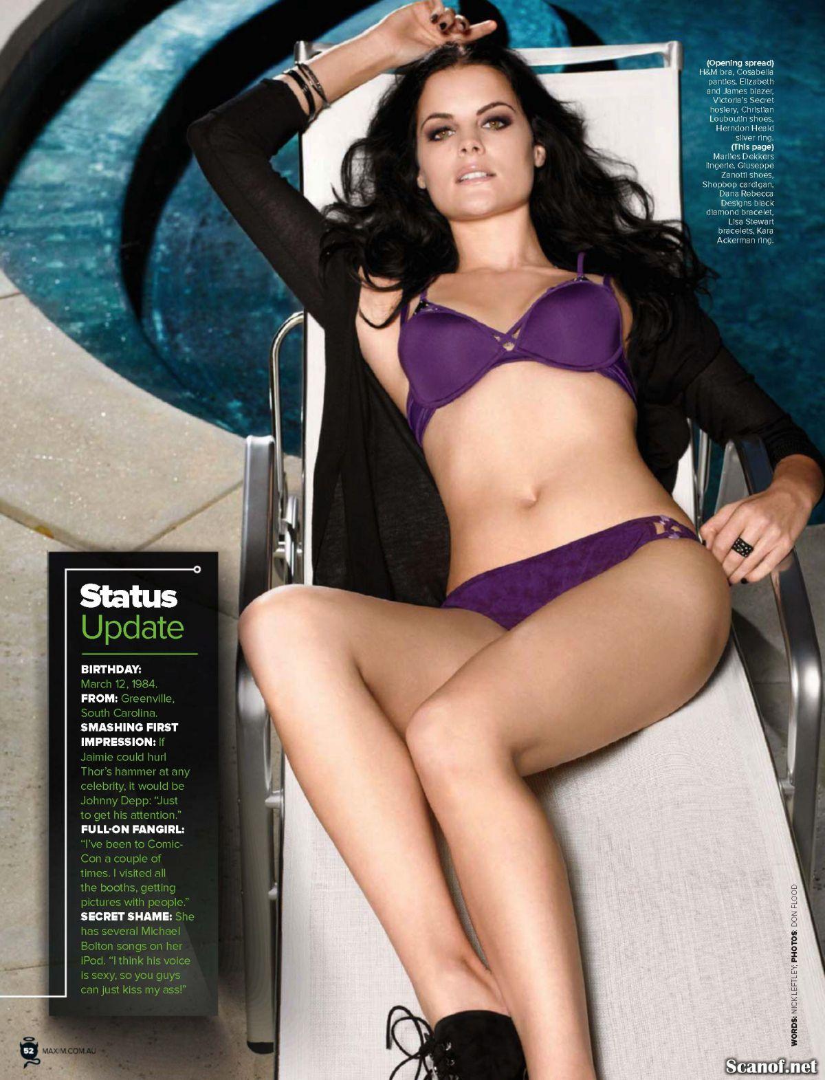 JAIMIE ALEXANDER in Maxim Magazine, March 2014 Issue