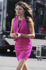 JANE LEEVES at Hot in Cleveland Set in Santa Monica