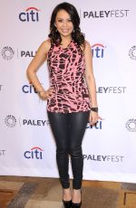 JANEL PARRISH at Pretty Little Liars Panel at Paley Fest