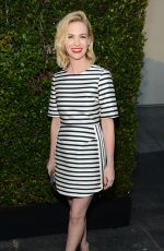 JANUARY JONES at 2nd Annual Rebels with a Cause Gala in Hollywood