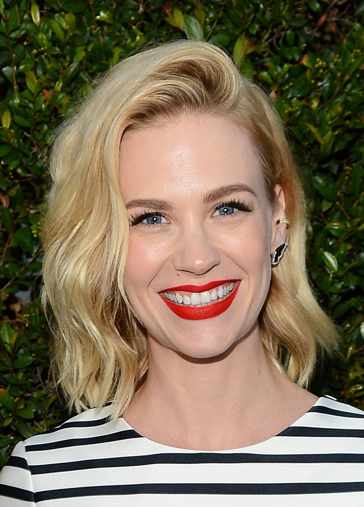 january jones at 2nd annual rebels with a cause gala in