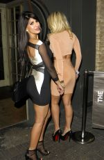 JASMIN WALIA and DANIELLE ARMSTRONG at the Brickyard Romford