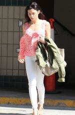 JENNA DEWAN Out and About in Beverly Hills