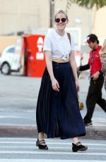 JENNA MALONE Out and About in Los Angeles
