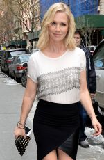 JENNIE GARTH Promotes Her Book  Deep Thoughts From a Hollywood Blonde in New York