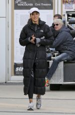 JENNIFER BEALS on the Set of Proof in Vancouver