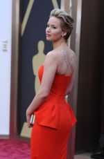 JENNIFER LAWRENCE at 86th Annual Academy Awards in Hollywood