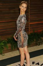 JENNIFER LAWRENCE at Vanity Fair Oscar Party in Hollywood