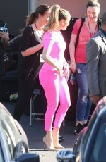 JENNIFER LOPEZ Arrives at American Idol Studios in West Hollywood