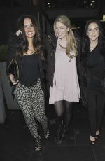 JENNIFER METCALFE, AMANDA CLAPHAM and STEPHAINE WARING Out in Manchester