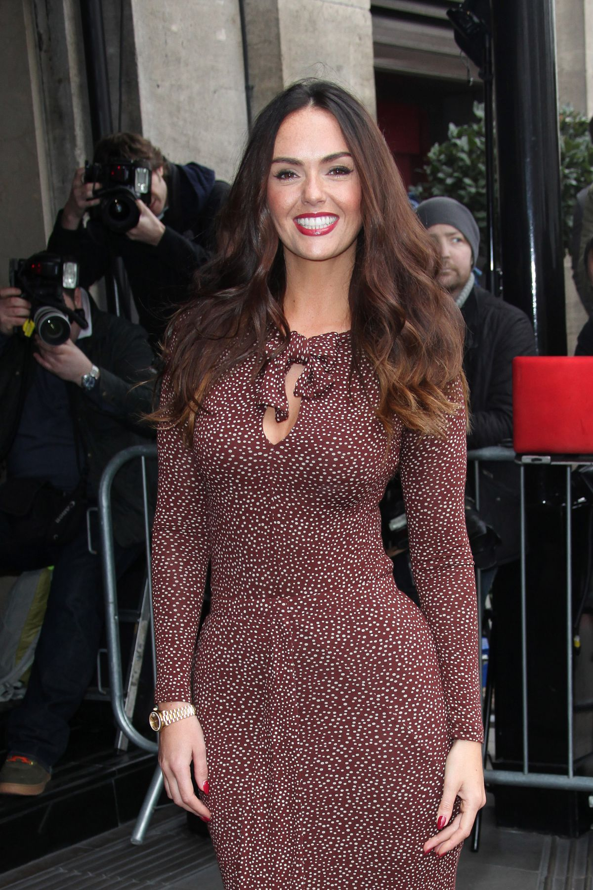 JENNIFER METCALFE at TRIC Awards 2014 in London