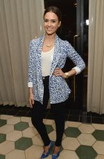 JESSICA ALBA at Anthropologie Celebrates a Denim Story in Los Angeles