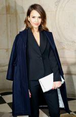 JESSICA ALBA at Christian Dior Fashion Show in Paris