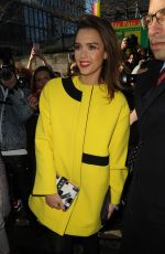 JESSICA ALBA at Kenzo Fashion Show in Paris