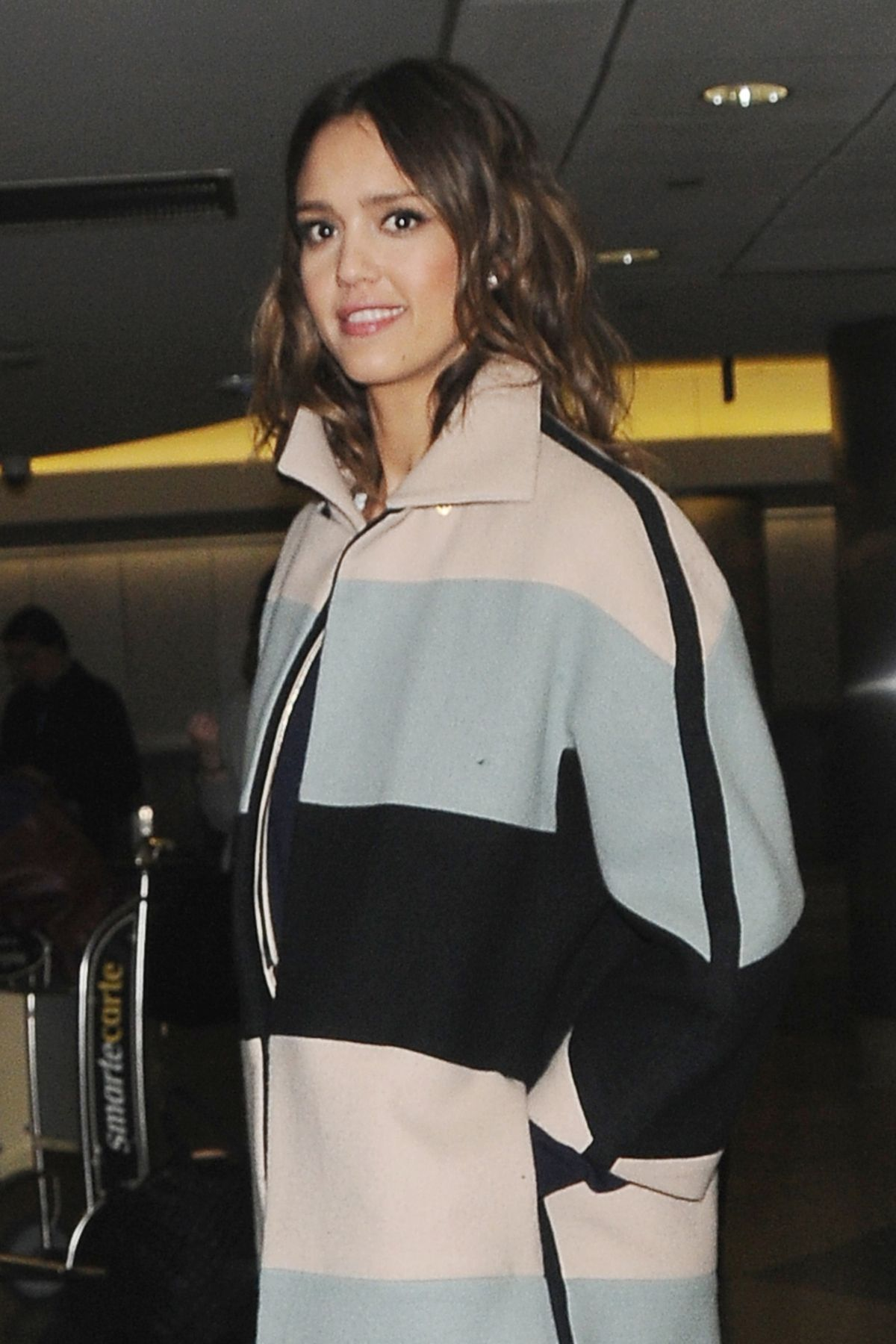 JESSICA ALBA at LAX Airport in Los Angeles 0503