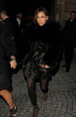 JESSICA ALBA Leaves Porter Magazine Party in Paris