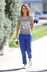 JESSICA ALBA Out and About in Los Angeles 1603