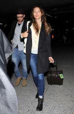 JESSICA BIEL and Justin Timberlake Arrives at LAX Airport