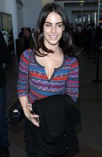 JESSICA LOWNDES Arrives at LAX Airport