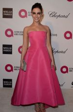 JESSICA LOWNDES at Elton John Aids Foundation Oscar Party in Los Angeles