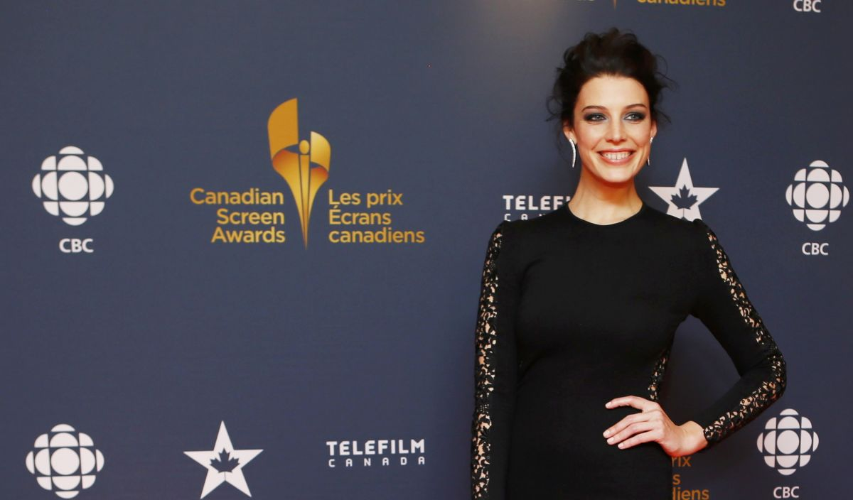 JESSICA PARE at 2014 Canadian Screen Awards in Toronto