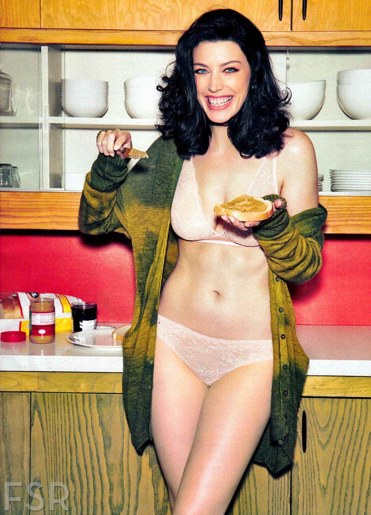 JESSICA PARE in Esquire Magazine, April 2014 Issue
