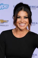 JESSICA SZOHR at Captain America: The Winter Soldier Premiere in Hollywood
