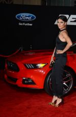 JESSICA SZOHR at Need for Speed Premiere in Hollywood