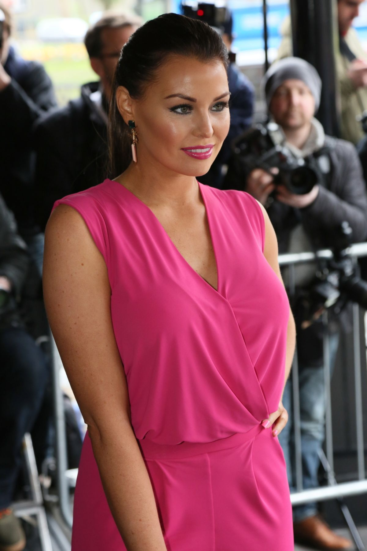 JESSICA WRIGHT at TRIC Awards 2014 in London