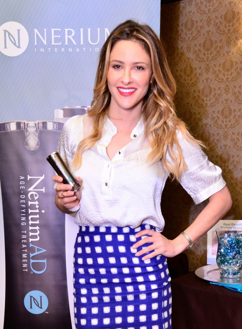 JILL WAGNER at 2014 Red Carpet Style Lounge in Beverly Hills